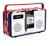ViewQuest Retro DAB Radio - Union Jack