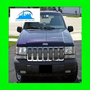 1991-1998 JEEP CHEROKEE CHROME TRIM FOR GRILL GRILLE 1992 1993 1994 1995 1996 1997 91 92 93 94 95 96 97 98