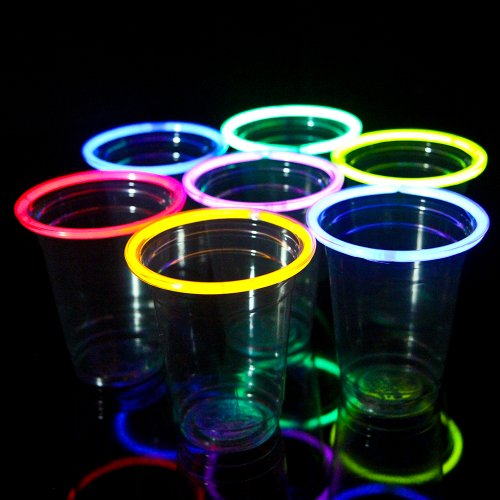 Check Out This 48 Glow Stick Party Cups (16-18 oz)