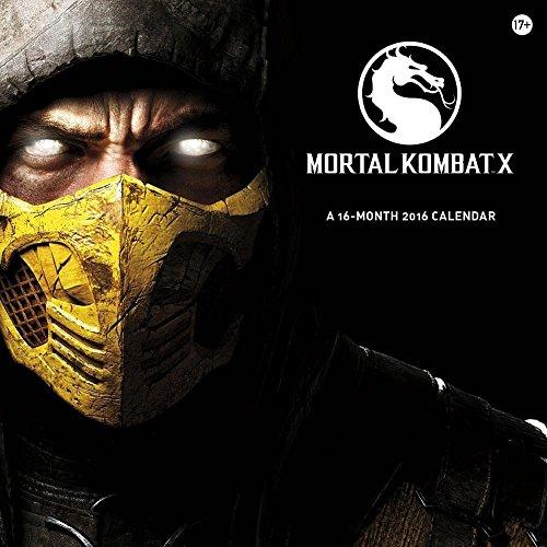 Mortal Kombat X 2016 Wall Calendar by Trends International