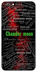 Chander moon (Hindu Boy) Name & Sign Printed All over customize & Personalized!! Protective back cover for your Smart Phone : Samsung Galaxy S5 / G900I