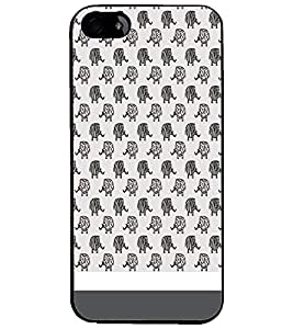 PrintDhaba Pattern D-1516 Back Case Cover for APPLE IPHONE 5 (Multi-Coloured)
