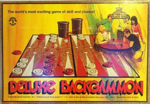 Deluxe Backgammon 1973 - 1