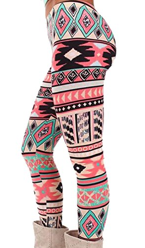 CFD-Womens-Print-Smooth-Crop-Stretch-Tights-Leggings