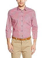 Seidensticker Camisa Vestir Super Slim (Rojo)