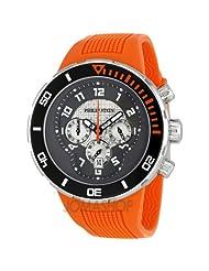Philip Stein Men's 33-XBOGR-RO Active Orange Rubber Strap Watch