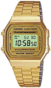 Casio Dress Digital Mens Watch A168WG9