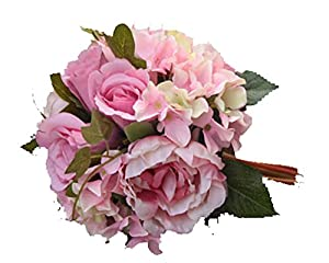 Home Decoration Artificial Rose Peony Wedding Flowers Bridal Bouquets