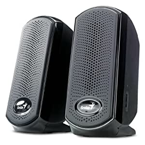 Genius SP-U110 - Altavoces de ordenador, color negro