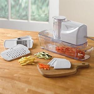Brylanehome Electric Mandoline Slicer Kitchen Dining