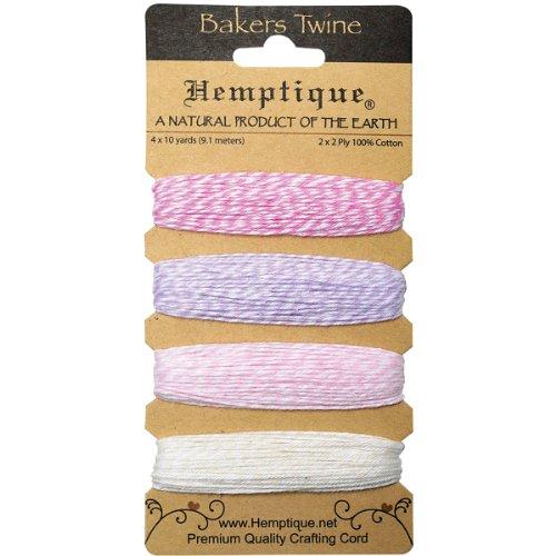 hemptique-bobine-carte-bakers-twine-2-plis-flamingo