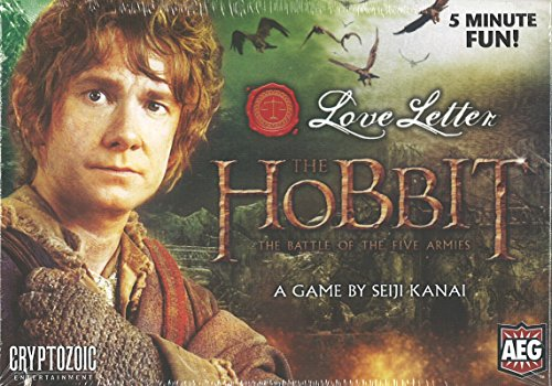 Love Letter The Hobbit Boxed Edition Game