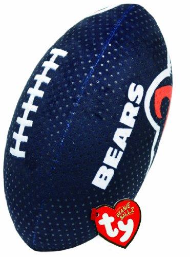 Ty Beanie Ballz NFL RZ Chicago Bears Football Plush