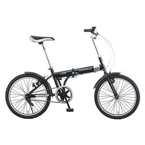 ミムゴ(MIMUGO) CHEVROLET(シボレー) 折りたたみ自転車 20インチ ブラック No.73123