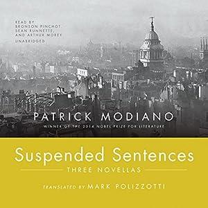 Suspended Sentences - Three Novellas - Patrick Modiano
