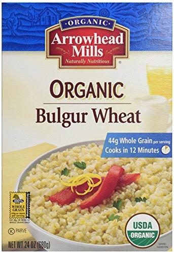 Arrowhead Mills Organic Bulgur Wheat 24 oz (Grain Mill Back To Basics compare prices)