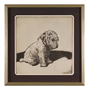 CAS Wall Décor Inconsolable 31-by-31-Inch Framed Print