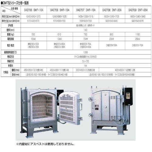マイコン付 横扉式電気窯DMT型シリーズ DMT-25A