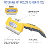 OU-BAND Pet Deshedding Tool and Pet Grooming Brush for Small, Medium, Large Dogs/Cats, With Short to Long Hair, Greatly Reduces Shedding In Minutes