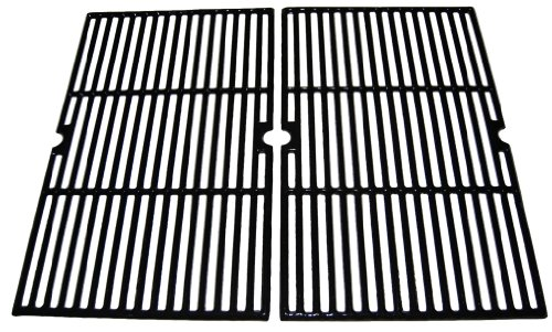 Universal Gas Grill Grate Porcelain Coated Cast Iron Cooking Grid 62152