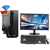 "VERY SLIM 3YRS WARRANTY DESKTOP WITH QUAD CORE CPU / 4GB RAM/ 2TB HDD / ATX CABINET WITH 20"" LED DESKTOP PC COMPUTER"