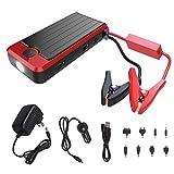 Banco de Poder PowerAll PBJS12000R Rosso portátil y cables de carro, rojo y negro