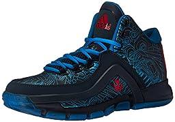 adidas Performance Men\'s J Wall 2 Basketball,Collegiate Navy/Vivid Red/Shock Blue,9 M US