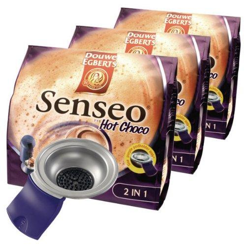 buy senseo hot choco starter pack deluxe 3 x pads pod. Black Bedroom Furniture Sets. Home Design Ideas