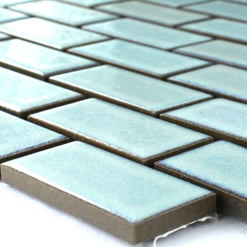 keramik mosaik fliesen t rkis matt uni. Black Bedroom Furniture Sets. Home Design Ideas