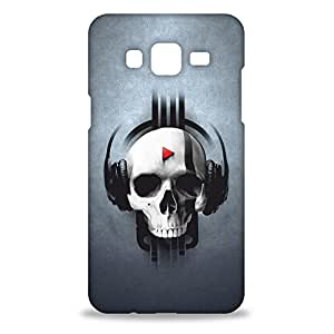 ezyPRNT Samsung Galaxy On 5 Mobile Back Case Cover with Beautiful Premium Skull Radiohead