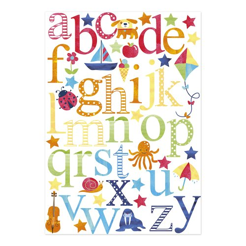 JoJo Maman Bebe Wall Stickers, Alphabet