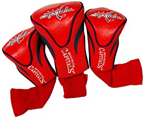 NHL Washington Capitals 3 Pack Contour Headcovers by Team Golf