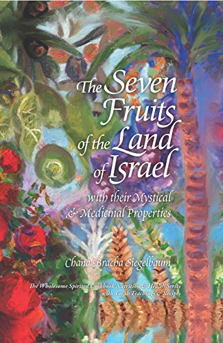 The Seven Fruits of the Land of Israel: With Their Mystical & Medicinal Properties by Chana Bracha Siegelbaum