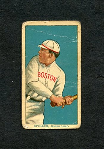1914 T213-2 Coupon Cigarettes Tris Speaker Red Sox GD-VG 254383 Kit Young Cards