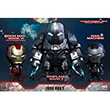 Iron Man Hot Toys COSB270 Mark VI & War Machine & Whiplash Mark II Cosbaby Set -CN#b4err4-gr4e g145e74736
