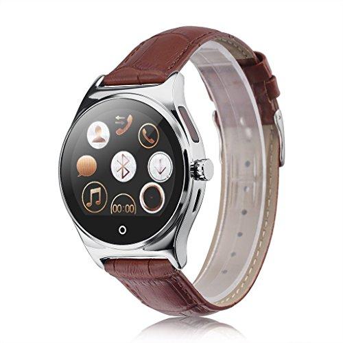 RWATCH R11 montre Smart Watch infrarouge Télécommande fréquence cardiaque Appels / SMS Rappel Sédentaire BT Musique podomètre Moniteur sommeil pour Android IOS