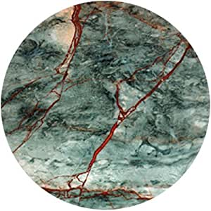 "CoasterStone NC23 Absorbent Coasters, 4-1/4-Inch, ""Green and Red Marble"", Set of 4"