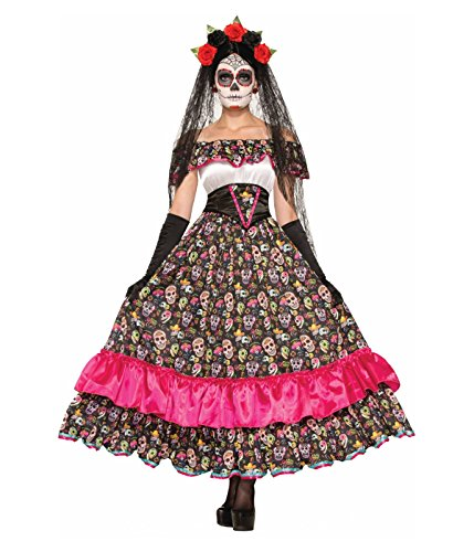 Day of the Dead Spanish Lady Adult Costume