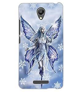 ColourCraft Angel Design Back Case Cover for XIAOMI REDMI NOTE 2