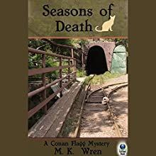 Seasons of Death: A Conan Flagg Mystery (       UNABRIDGED) by M. K. Wren Narrated by Jack Marshall