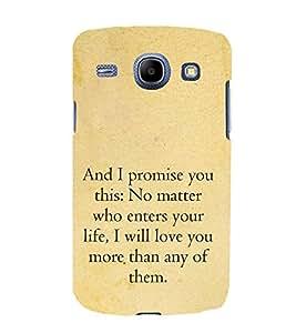 Fuson Premium Printed Hard Plastic Back Case Cover for Samsung Galaxy Core I8260