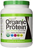 Orgain Organic Protein Plant-Based Powder, Creamy Chocolate Fudge, 2.03 Pound
