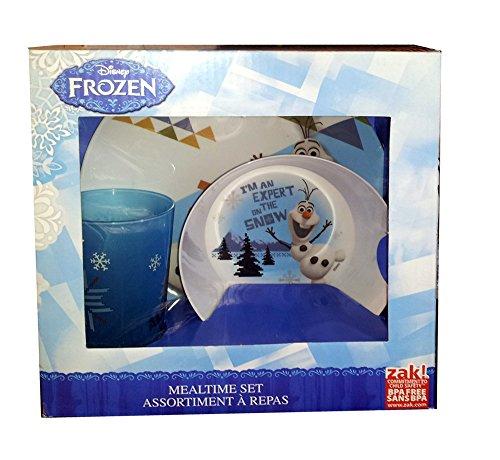 Disney Frozen Olaf & Sven Mealtime Set - Plate Bowl & Tumbler