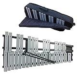 [AW-Net] 折りたたみ 式 卓上 鉄琴 30音 グロッケン ポータブル 収納ケース 付き