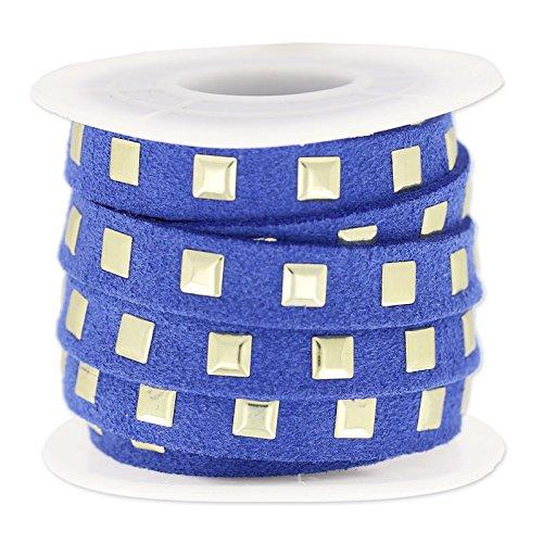 cordon-plano-imitacion-gamuza-de-clavos-10-mm-azul-dorado-x3m