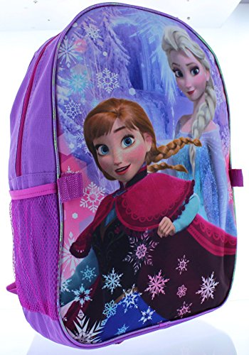 Disney Frozen Anna and Elsa Large Backpack with Detachable Lunch Box lacywear dg 4 ruz