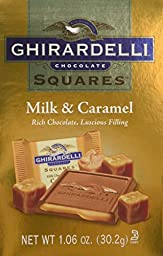 Ghirardelli Milk & Caramel Squares Bag, 24 Count, X-Small