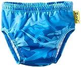 Baby Banz Boys Swim Diaper, Fin Frenzy Pattern, 12-18 Months
