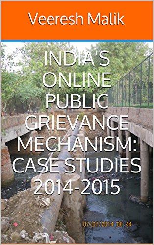 India's Online Public Grievance Mechanism: Case Studies 2014-2015 PDF