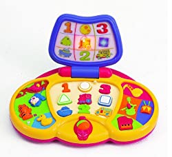 Small World Toys Express Preschool Toys Preschool Laptop